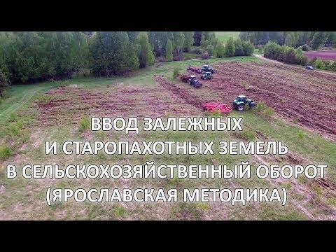 видео: Ввод залежных земель. Ярославская методика