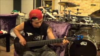 Bassist Mr.MIN (Seventh Wonder - Alley Cat)