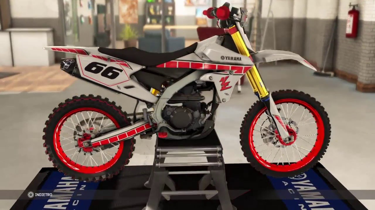 mxgp 2 ps4 yamaha yz450f modifiche e showroom youtube. Black Bedroom Furniture Sets. Home Design Ideas