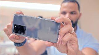 أول تجربة مع وحوش سامسونج | Samsung Galaxy S20 ULTRA | S20