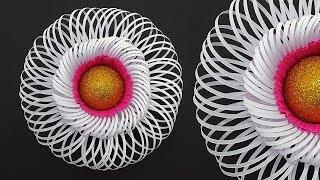 Giant Fluffy Center for Paper Flowers | DIY tutorial on Fluffy Paper Flower