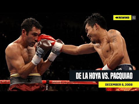 FULL FIGHT   Oscar De La Hoya Vs. Manny Pacquiao (DAZN REWIND)