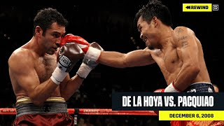 FULL FIGHT | Oscar De La Hoya vs. Manny Pacquiao (DAZN REWIND)