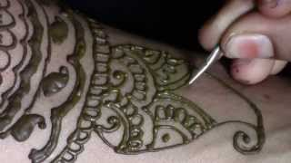 Traditional Indian Mehndi Step by Step tutorial