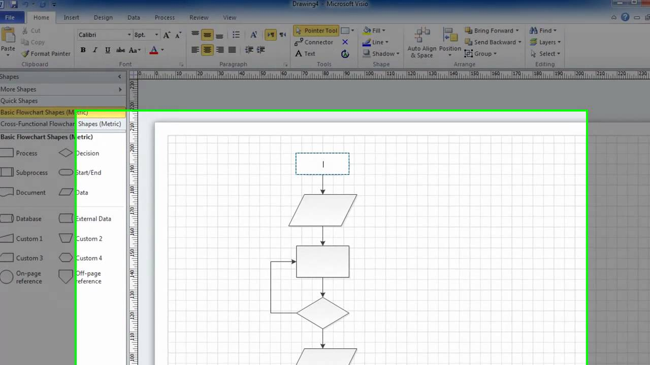 Visio 2010 Tutorials - INTRODUCTION - YouTube