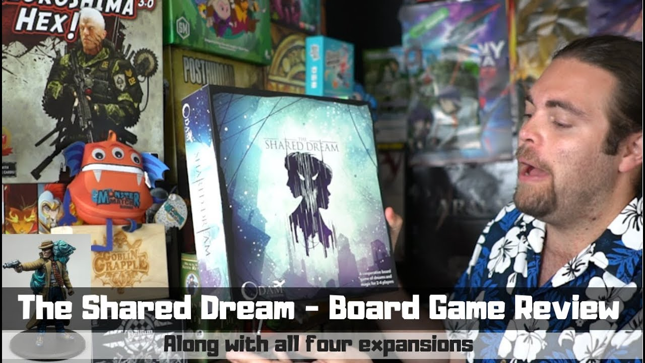 The Shared Dream /w expansions - Board Game Review