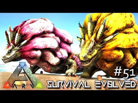 ARK: SURVIVAL EVOLVED - NEW MONSTER ROYAL LUDROTH TAMING !!! E51 (MODDED ARK EXTINCTION CORE)