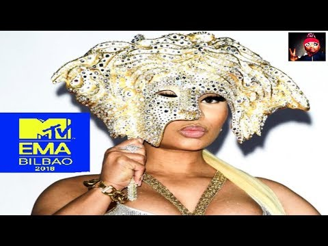 2018 MTV EMAs / NICKI MINAJ, JASON DERULO, LITTLE MIX, DAVID GUETTA (GOODBYE)
