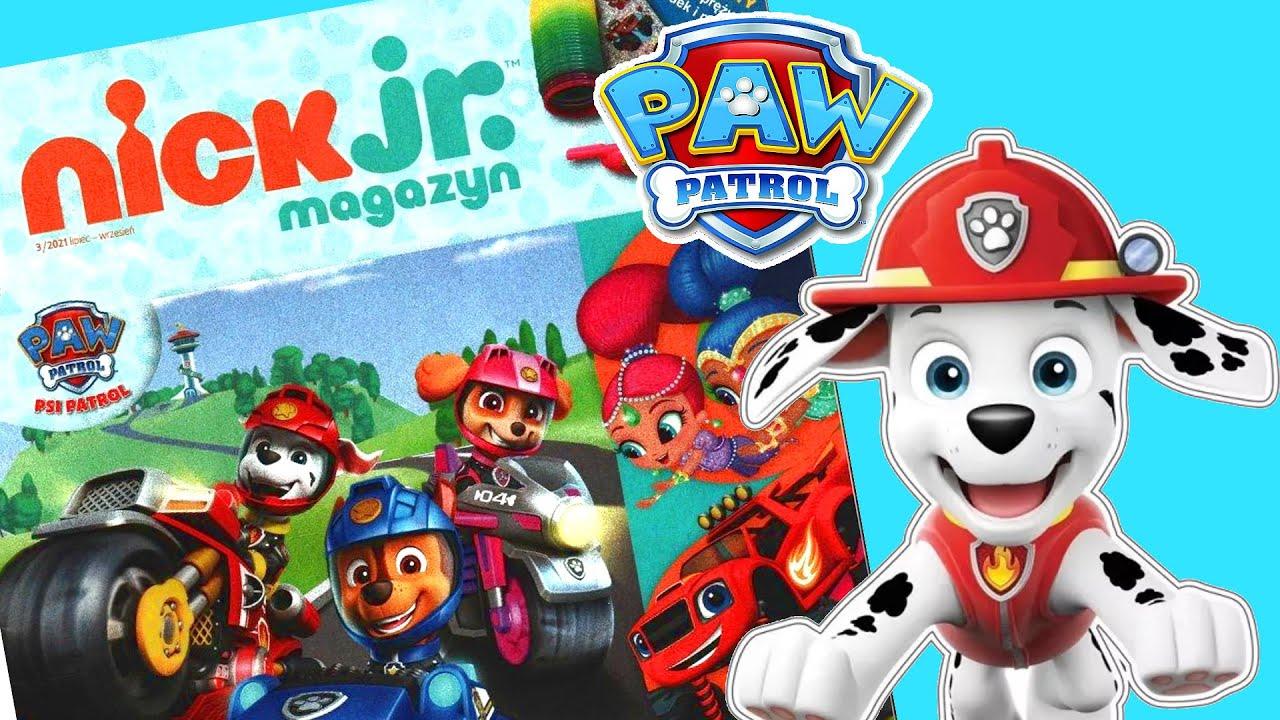Psi Patrol 🐶 Nick Jr magazyn dla dzieci z prezentami! Toys Land bajki po polsku