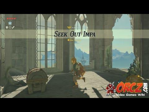 Legend of Zelda Breath of the Wild Seek Out Impa Gameplay Walkthrough