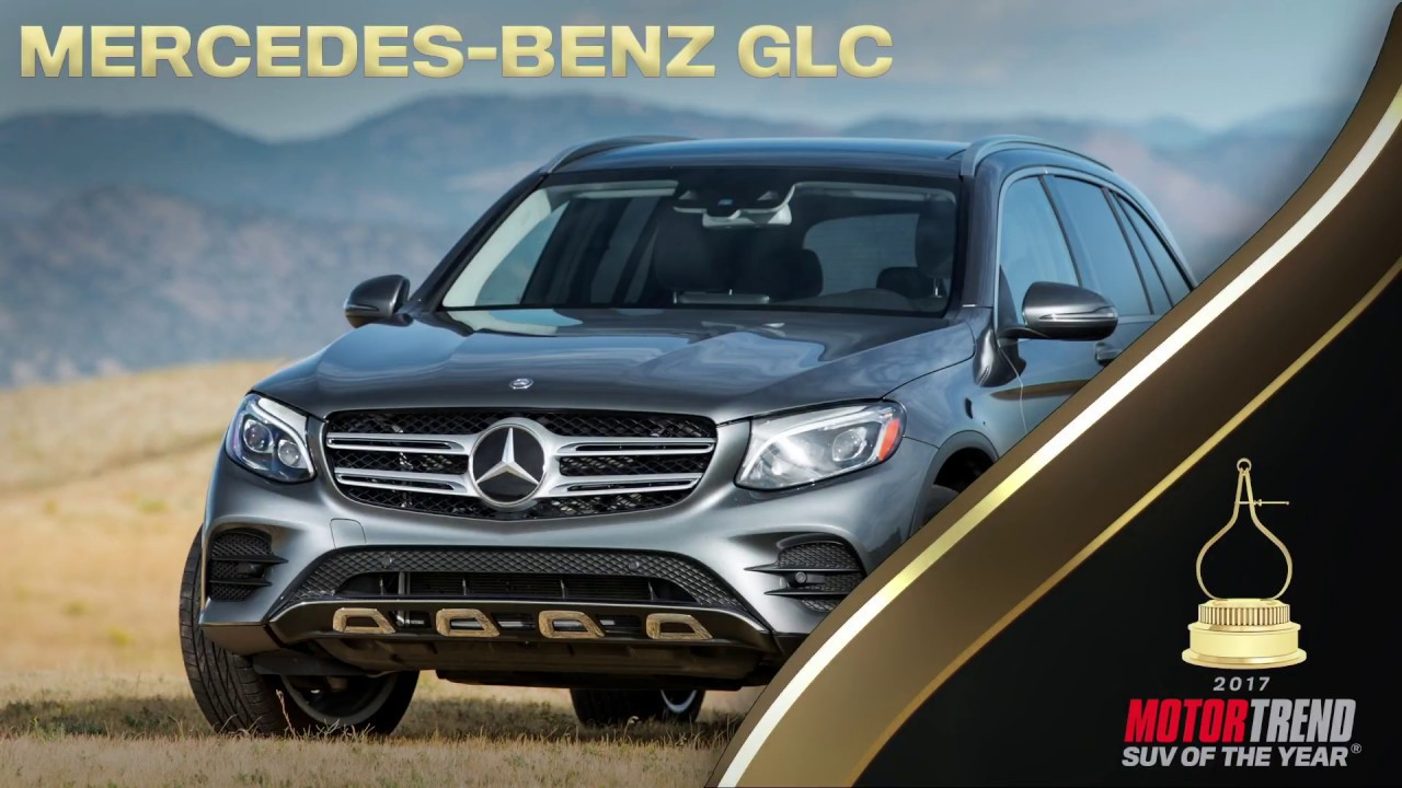 Motor Trend S Suv Of The Year Mercedes Benz Glc