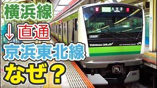 横浜線が京浜東北線に直通しているのはなぜか? 7/15-01