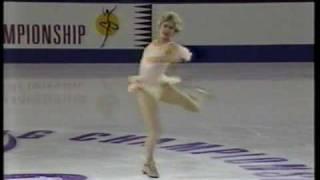 Biellmann Spin - Denise Biellmann 1995