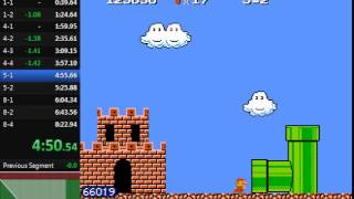 Super Mario Bros. 2 (The Lost Levels) Speedrun in 8:09.07 (without loads)