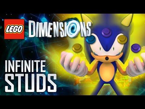 LEGO Dimensions - Infinite Studs (GLITCH/CHEAT) - Sonic Pack