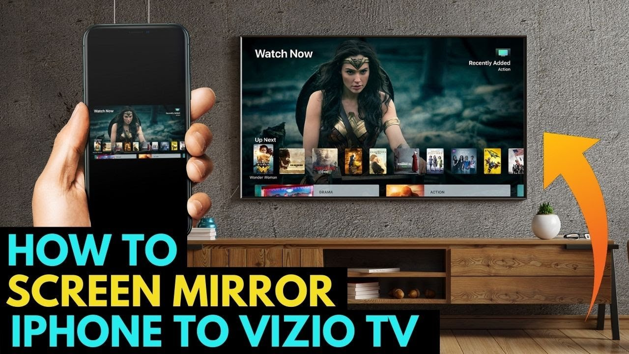 How To Screen Mirror iPhone to a Vizio TV
