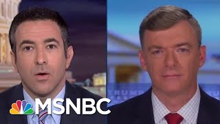 See Trump 2020 Staffer Admit Joe Biden Plot In Tough Interview | The Beat With Ari Melber | MSNBC