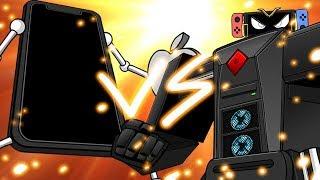 Mecha Shots: iPhone Xs Bot Vs /v/egazord