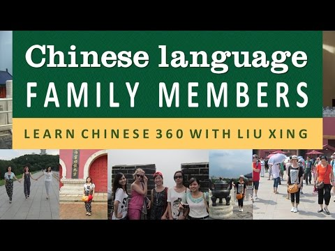 Chinese language family members.