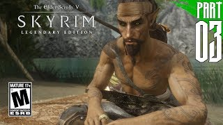 SKYRIM (200+ MODS) | Wood Elf Gameplay Walkthrough Part 3 [PC - HD]