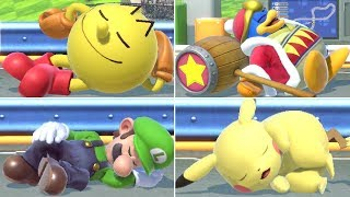 All Character Sleeping Animations in Super Smash Bros. Ultimate