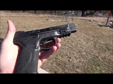 Smith and Wesson M&P PRO 9mm 250 Round Break-in