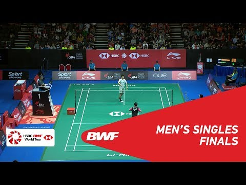 2018 BWF Men's Single vs. Chou Tien Chen(TPE) vs. Hsu Jen Hao(TPE)