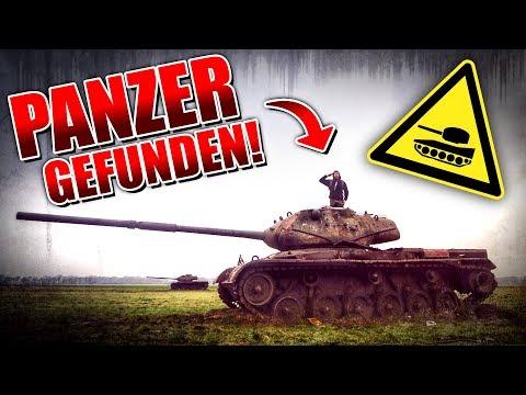 PANZER gefunden - Militär Schrottplatz mit M47 und Leopard - LOST PLACES | Fritz Meinecke