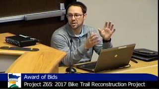 10.24.2017 Marshall City Council Meeting