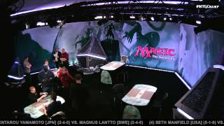 2015 Magic World Championship Round 7 (Modern): Owen Turtenwald vs. Joel Larsson