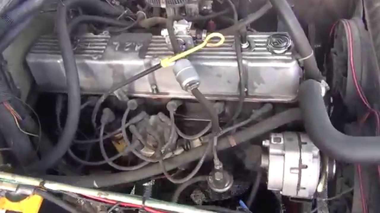 amc 258 straight six engine [ 1280 x 720 Pixel ]