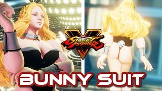 Street Fighter 5  mods Kolin Bunny Suit