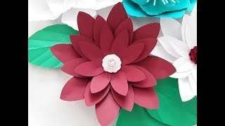 Download quilling table decoration asters flowers 1 diy paper craft diy large paper flower october flower series 2 mightylinksfo