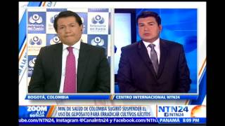 Debate en 'Zoom a la Noticia': ¿No más glifosato en Colombia?