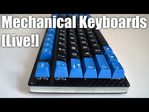 Mechanical Keyboards LIVE! - Building a custom TKL from 1upkeyboards.com