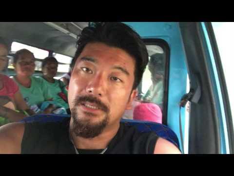 アキーラさん!東ティモール・ディリ市で乗り合いタクシー利用①Taxi in Dili city in East Timor