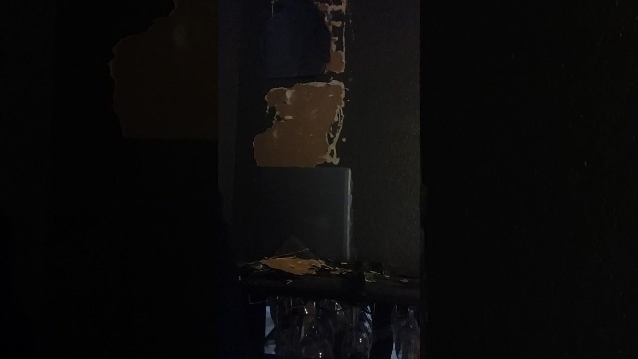 How to remove mirrors silicone to the wall youtube how to remove mirrors silicone to the wall amipublicfo Images