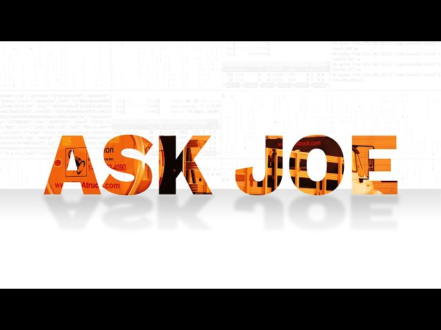 Ask Joe | What is a TMA Truck?