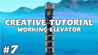 Fortnite Creative Tutorial #7 | Working Elevator in ALL Directions (Fortnite Battle Royale)