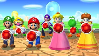 Mario Party 9 - Peach vs All Characters (Master Difficulty)