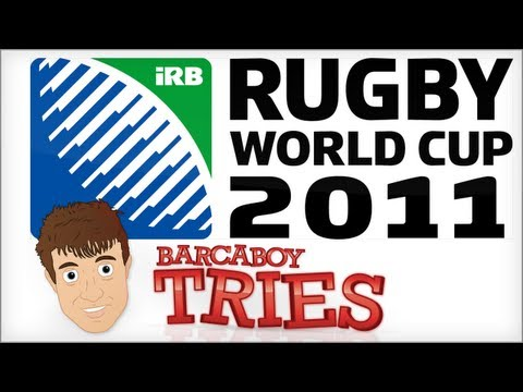 Barcaboy Tries  Rugby World Cup 2011