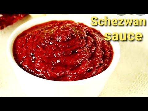 SHEZWAN SAUCE recipe by neelam ki recipe इस तरह बनायीए shezwan souce तो कभी खराब नहीं होगा।