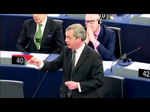 The people's army will prevail over anti-democratic EU - Nigel Farage, UKIP Leader
