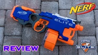 [REVIEW] Nerf Elite Hyperfire Unboxing, Review, & Firing Test