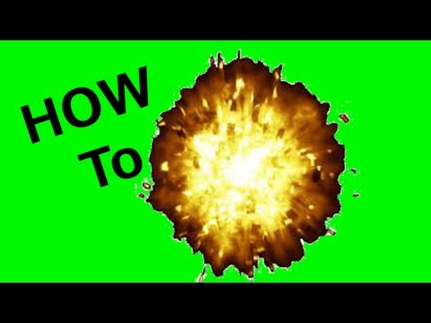 How to make an explosion in iMovie 11 (For Free)