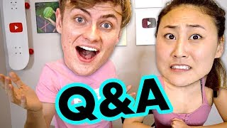 Q&A WITH CARTER SHARER and LIZZY!!