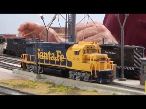 Brad Martin's Ho Scale Bee Line Railroad - layout tour