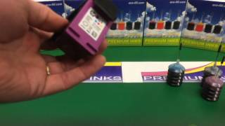 HP 301 Colour Refilling Instructions Video