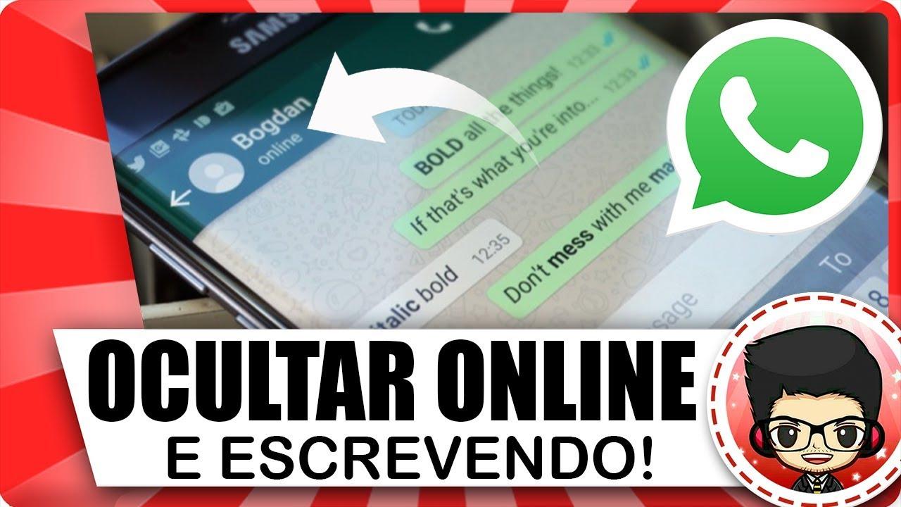ocultar online whatsapp iphone