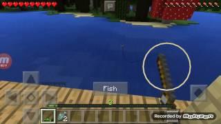 Minecraft pe nasıl balık tutulur?